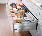 More storage space using wider cabinets - Blum - Albury Wodonga Kitchens