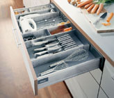 More storage space using additional drawers - Blum - Albury Wodonga Kitchens